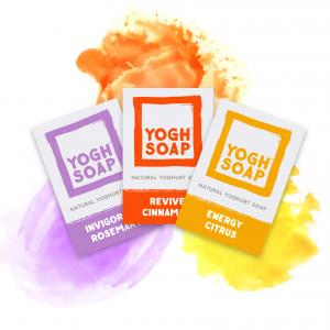 RECHARGE SET OF 3 NATURAL SOAPS